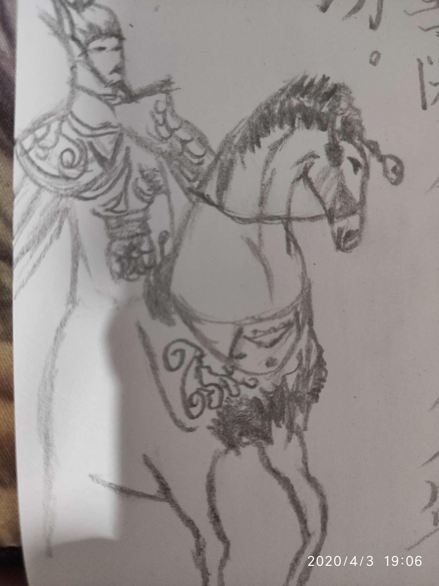 【手绘】有人说我字写的好,我试着写了一下,哈哈,果然不行