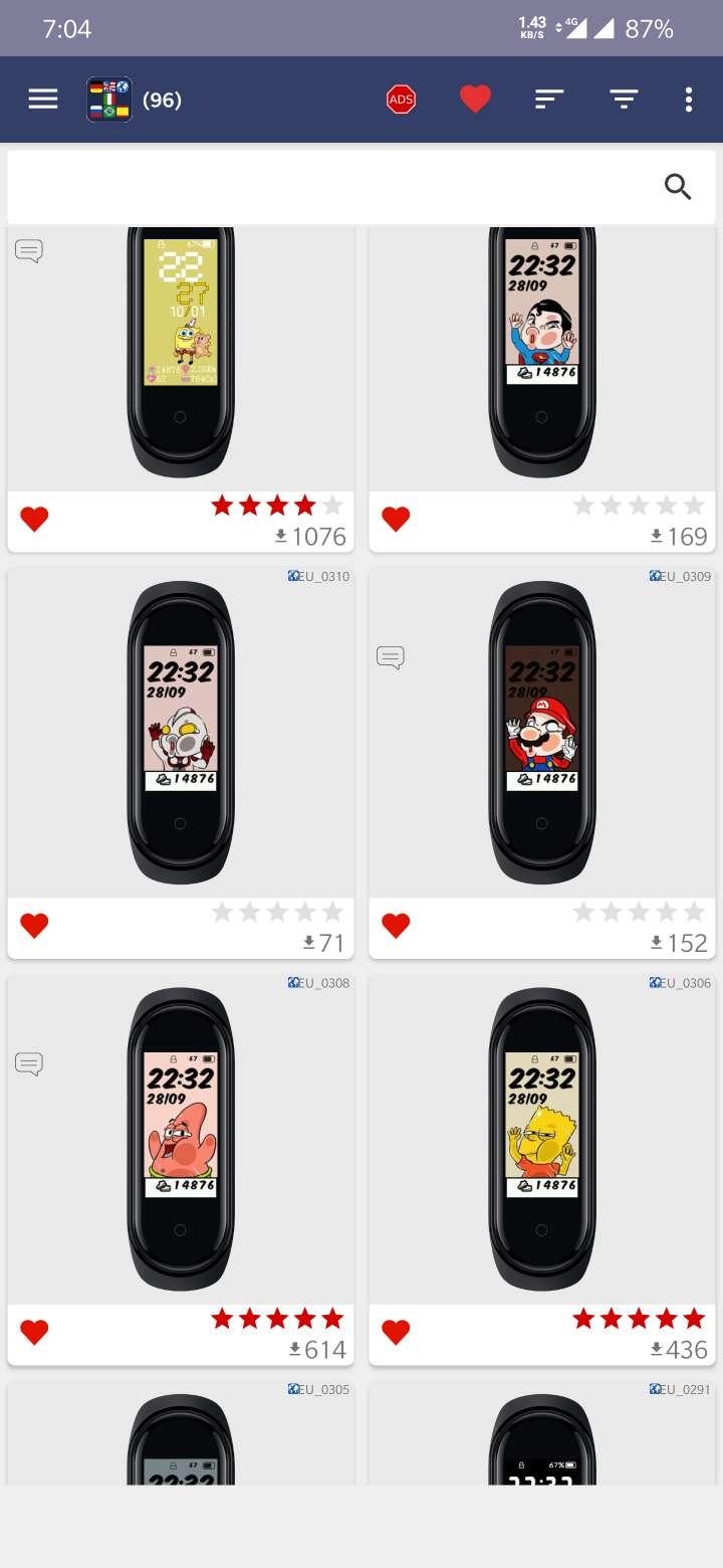 【资源分享】小米手环4及NFC版更换表盘,多大1万多种!-爱小助
