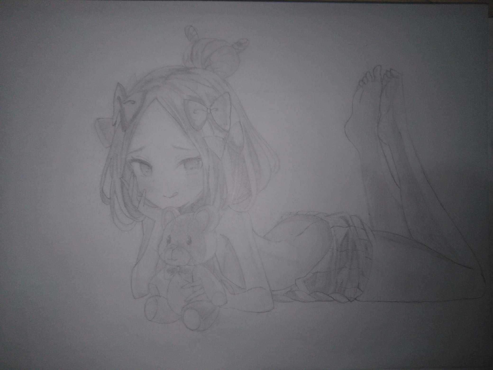 【手绘】画个可爱的小阿比(虽然崩了)-小柚妹站