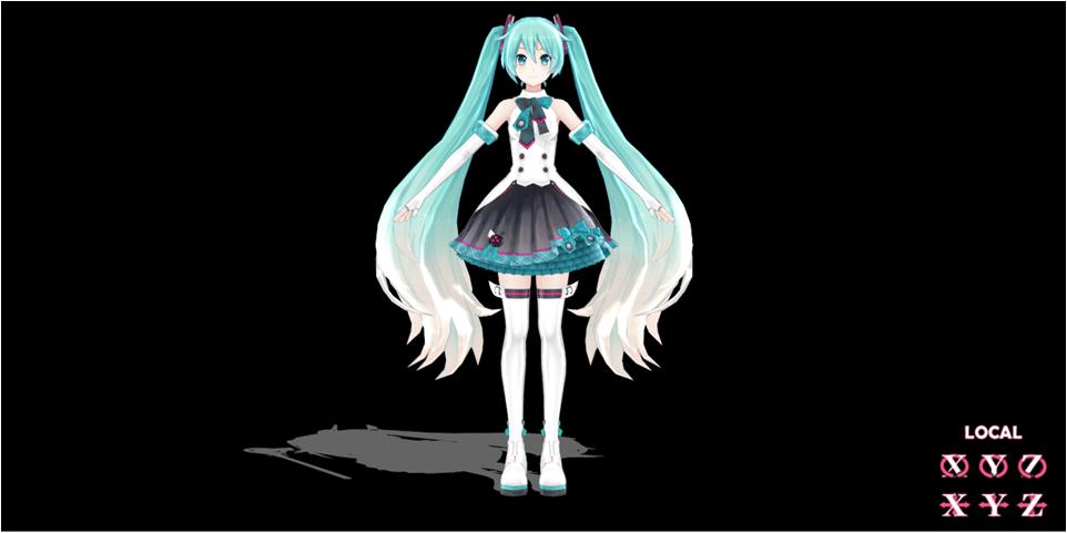 【求助】MMD模型,女生头像不露脸 霸气