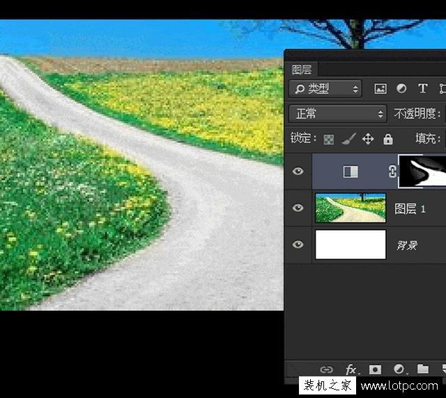 教你如何使用photoshop软件将照片局部去色