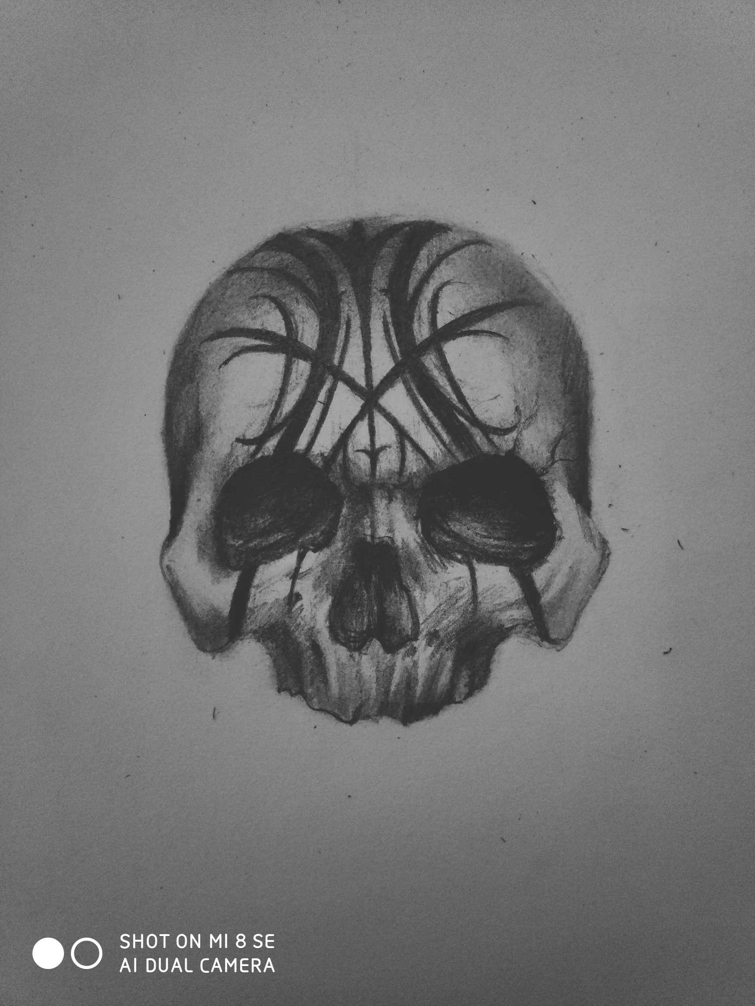 【手绘】原创骷髅,不如二次元彻底消失吧