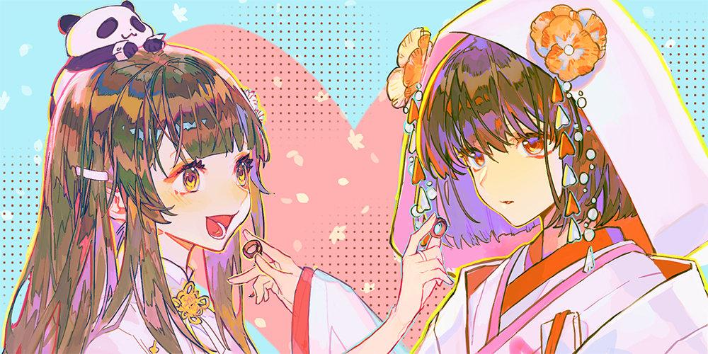 【求助】求一些两个女孩子的甜甜的图片