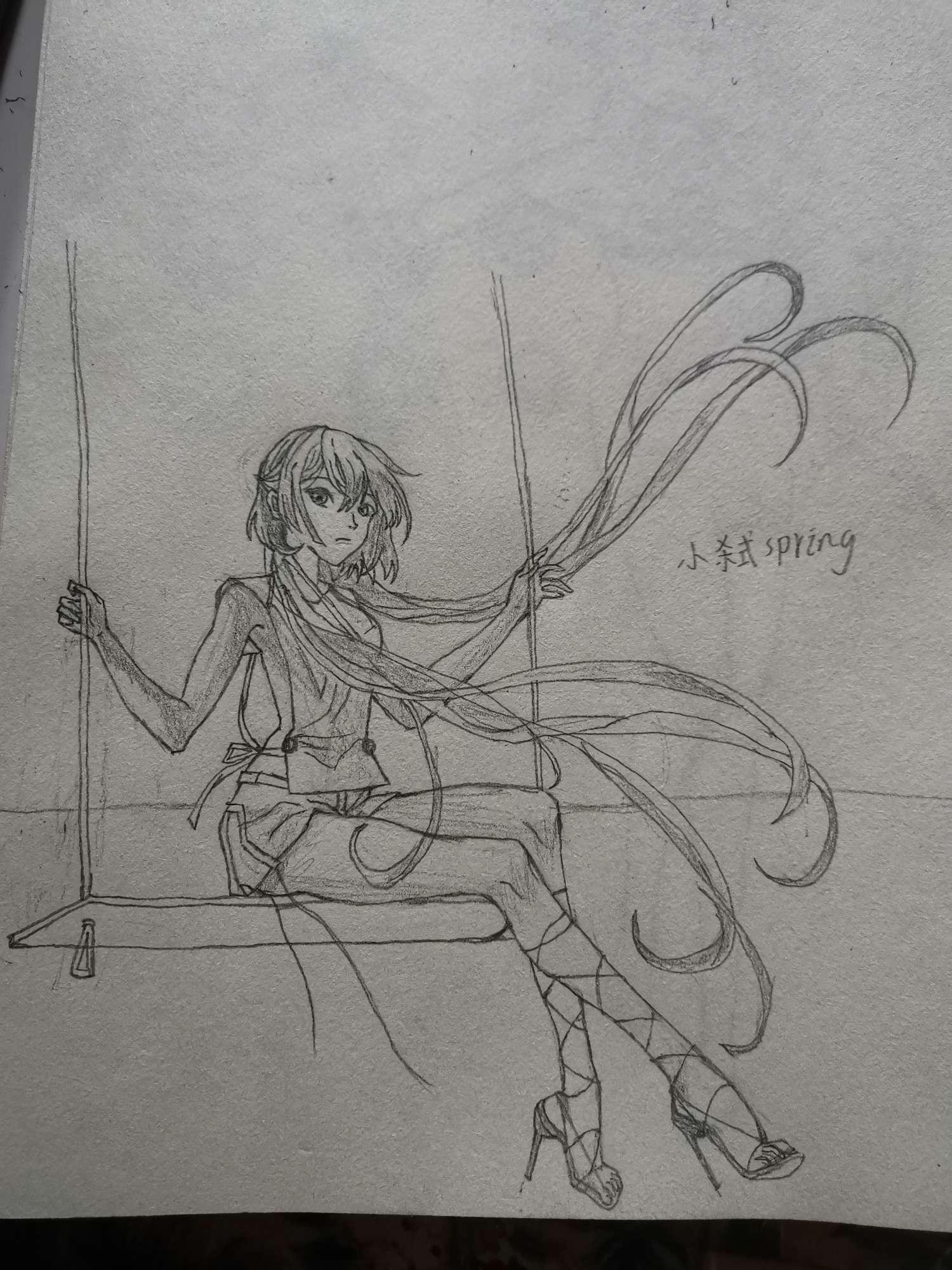 【手绘】手绘第七天,剑三萝莉成衣推荐