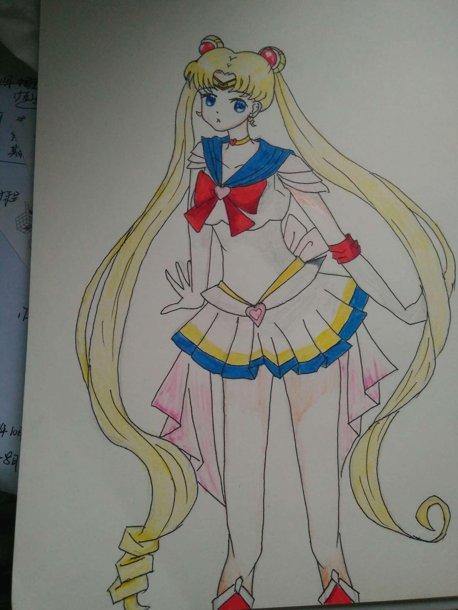 【手绘】美少女战士,颜值超高的百合剧-小柚妹站