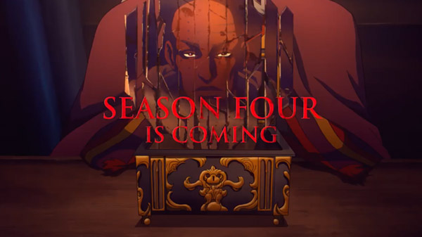 【资讯】网飞:《恶魔城》动画已续订第四季   3.28任务