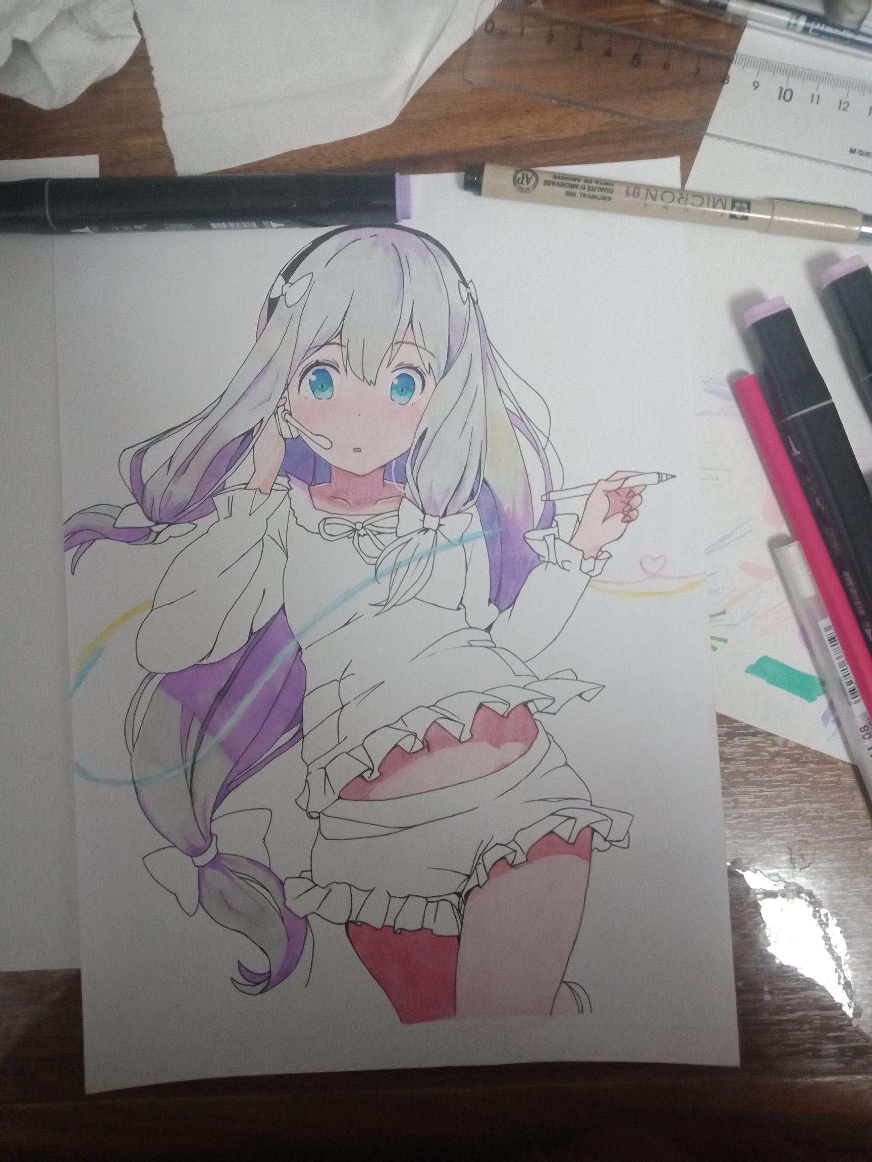 【手绘】发个帖画画。