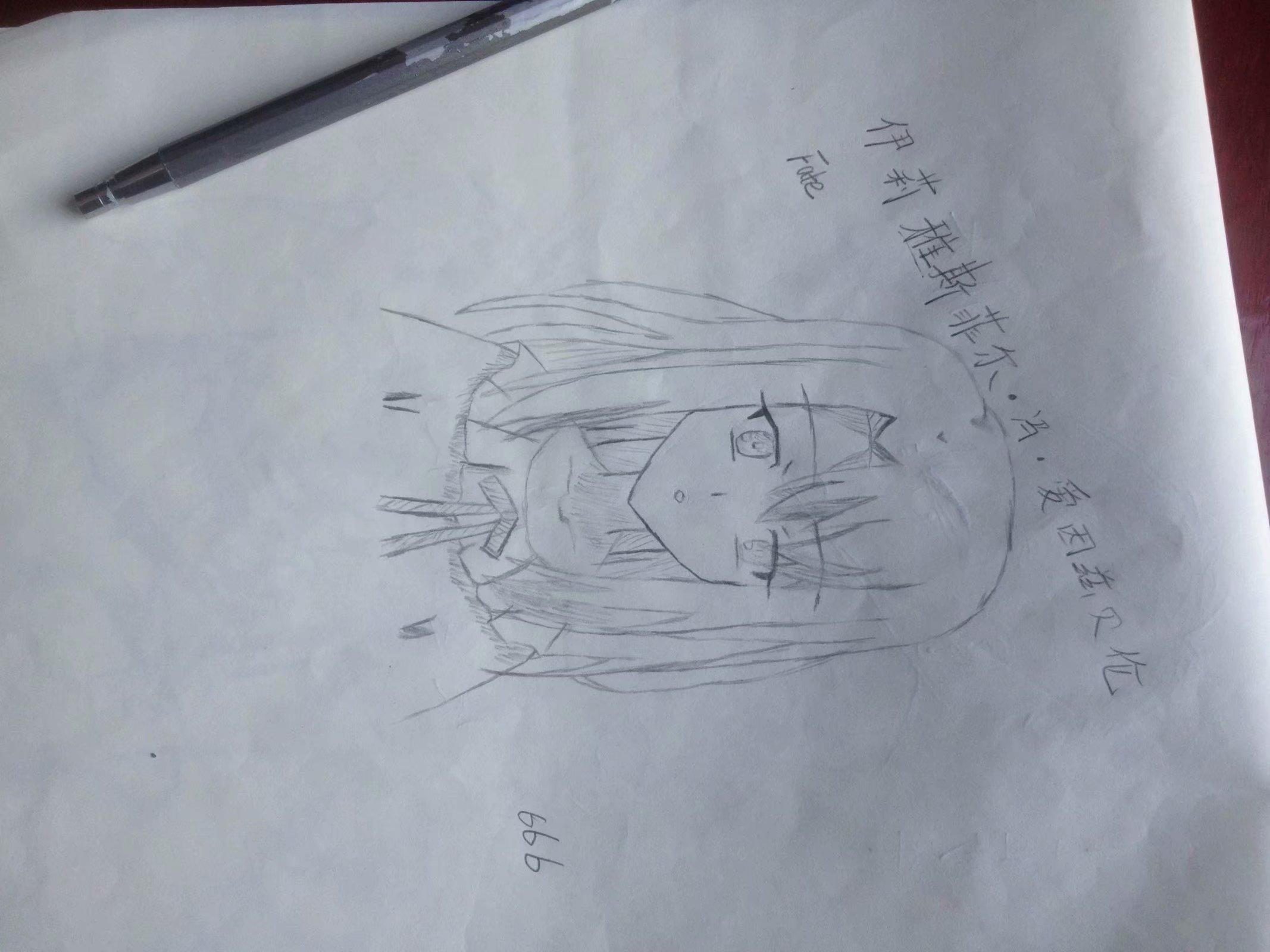 【手绘】鬼灭之刃,素描图