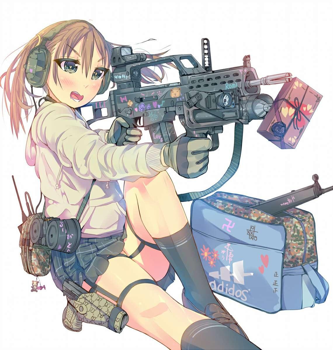 【美图】枪械少女(内有链接)