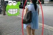 搞笑GIF:妹子在我前面,我强迫症都要犯了