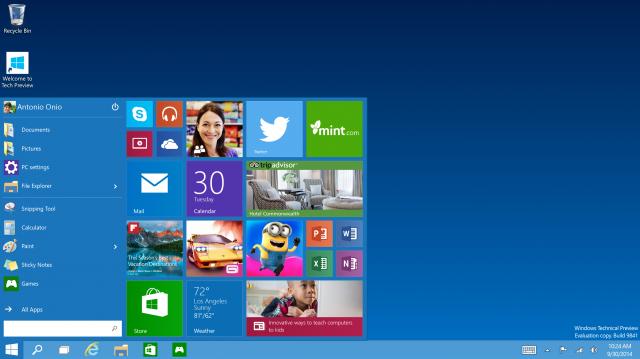 windows8和windos10的区别