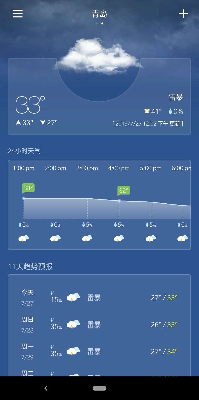 【资源分享】天气预报-爱小助