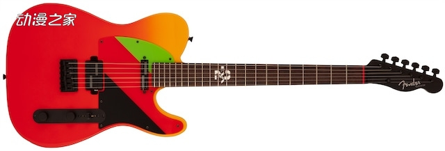 【资讯】为纪念《EVA》剧场版上映 EVA明日香吉他7月发售