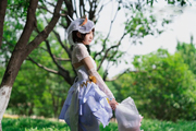 【COS 王者荣耀】小乔:纯白花嫁