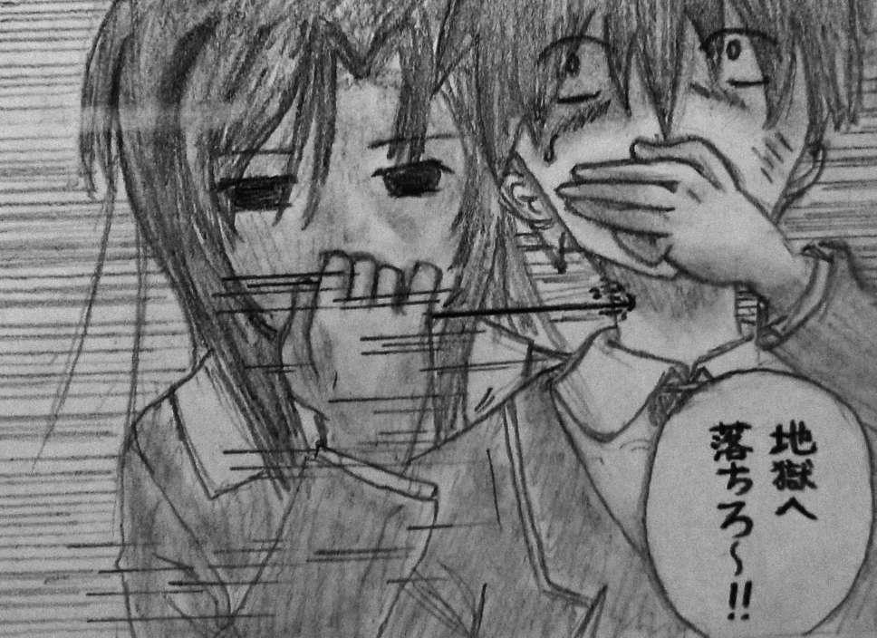 【手绘】本以为诚哥在本子很快活...-小柚妹站
