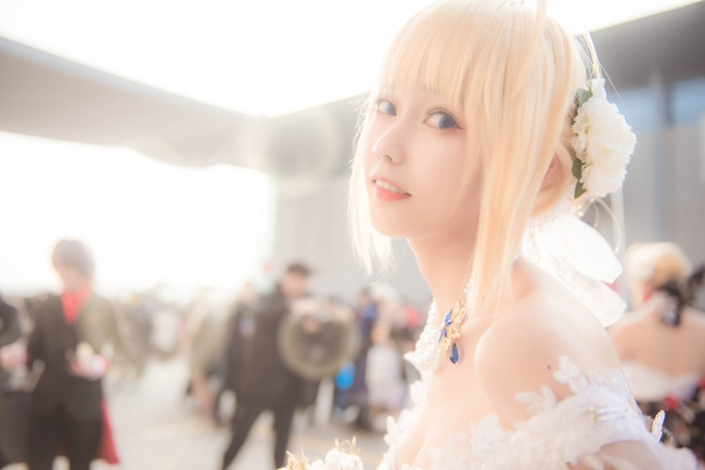 【cos】saber花嫁-