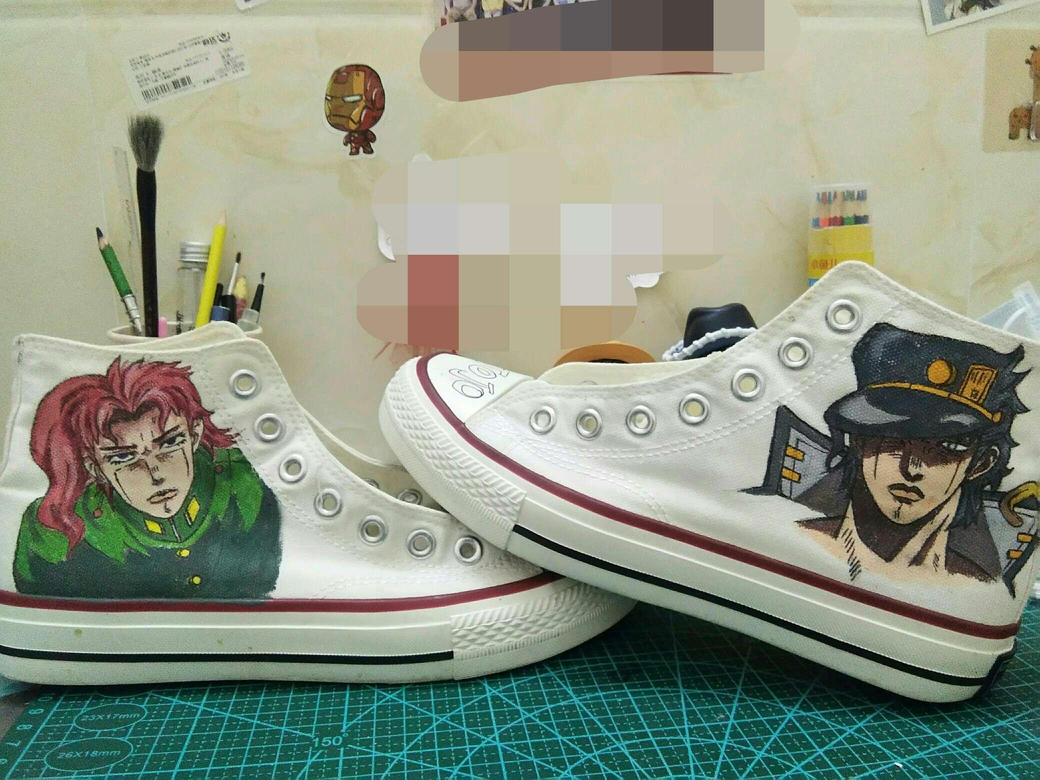 【手绘】是鞋绘昂,我画完了!-小柚妹站