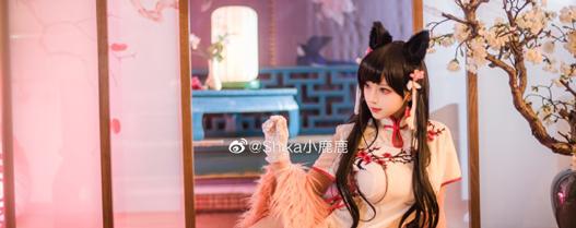 【COS碧蓝航线】爱宕:旗袍ver