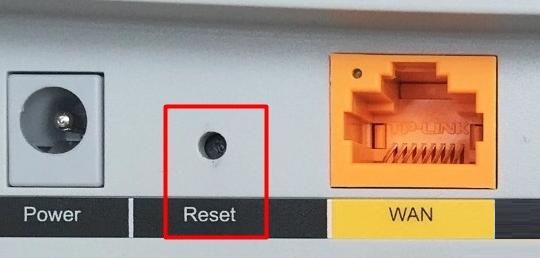 教你路由器如何恢复出厂设置