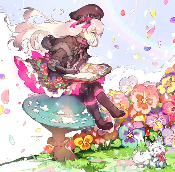 【图片】落花女孩,阿衰妖漫画全集漫画图片-小柚妹站