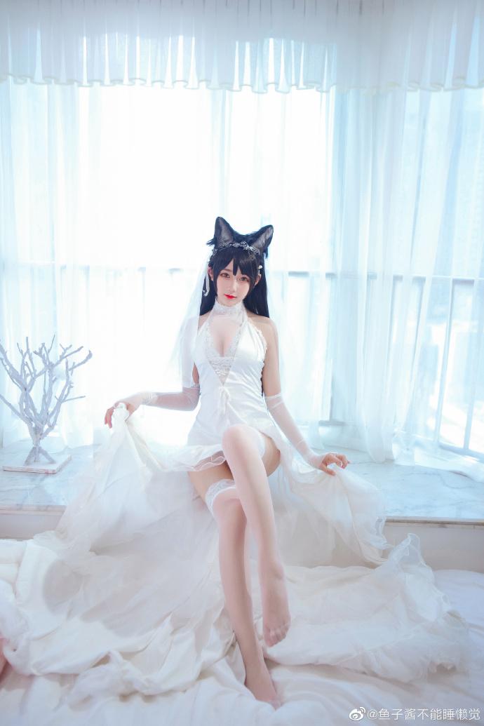 【COS】爱宕 白婚纱-小柚妹站