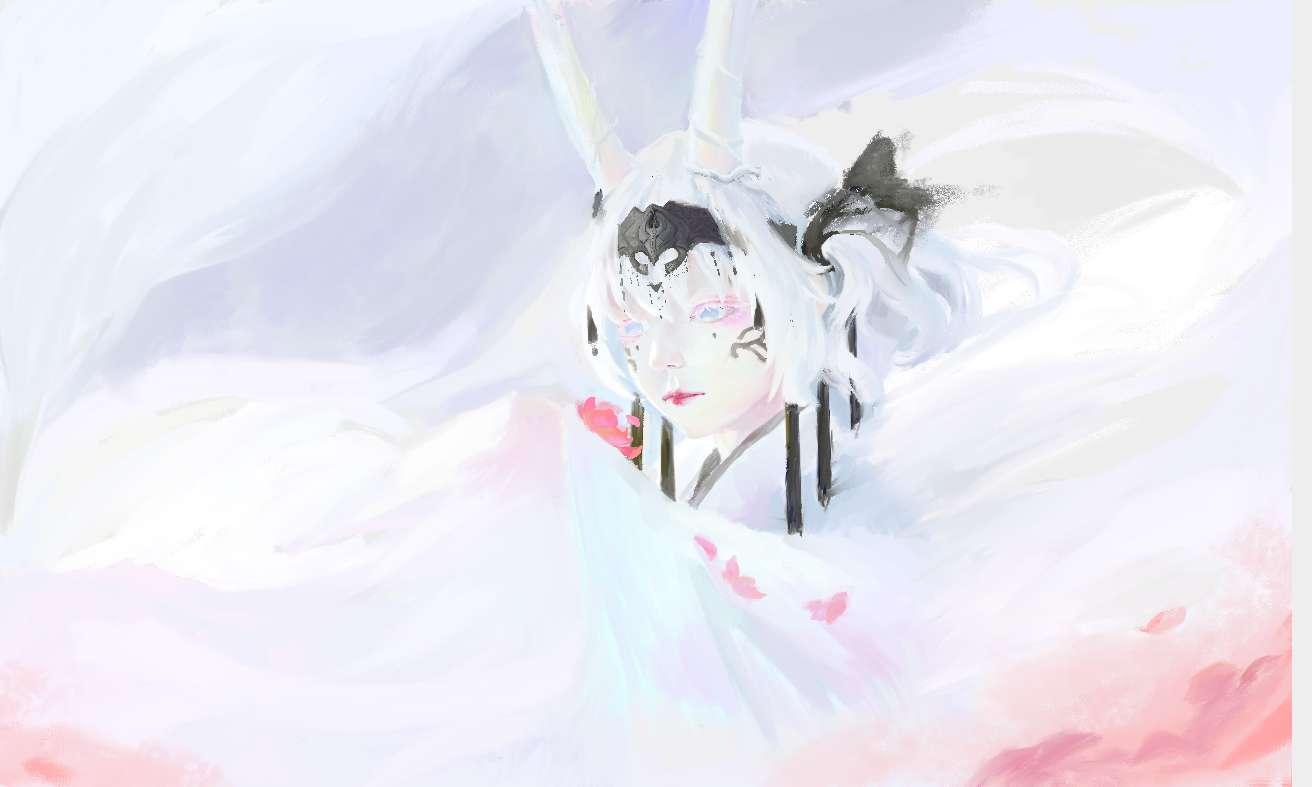 【板绘】void作品临摹-小柚妹站