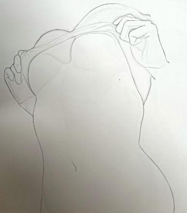 【手绘】胸怀,我与纯洁主妇邪恶漫画
