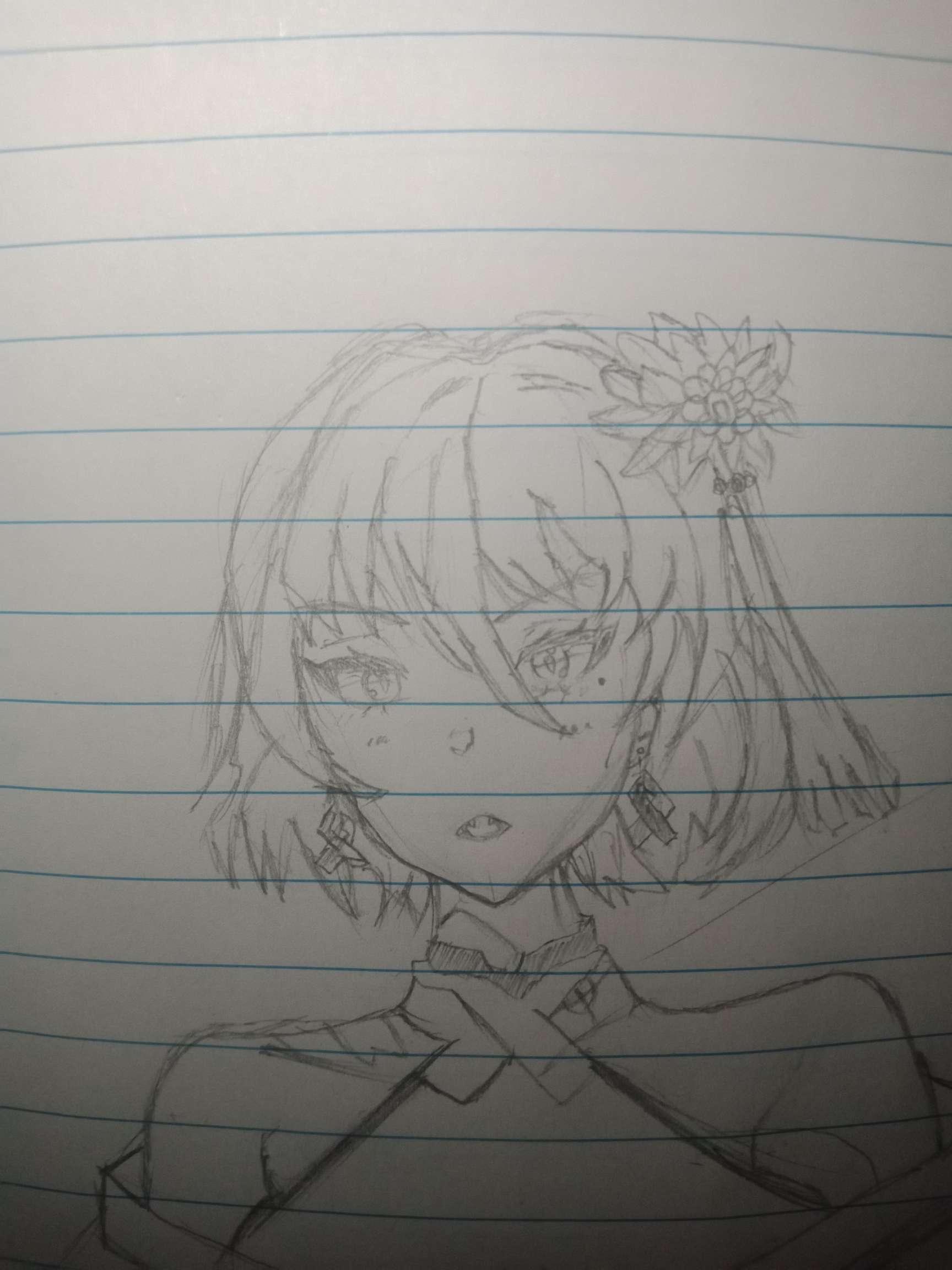 【手绘】今日打卡,灰原第一次出场漫画-小柚妹站