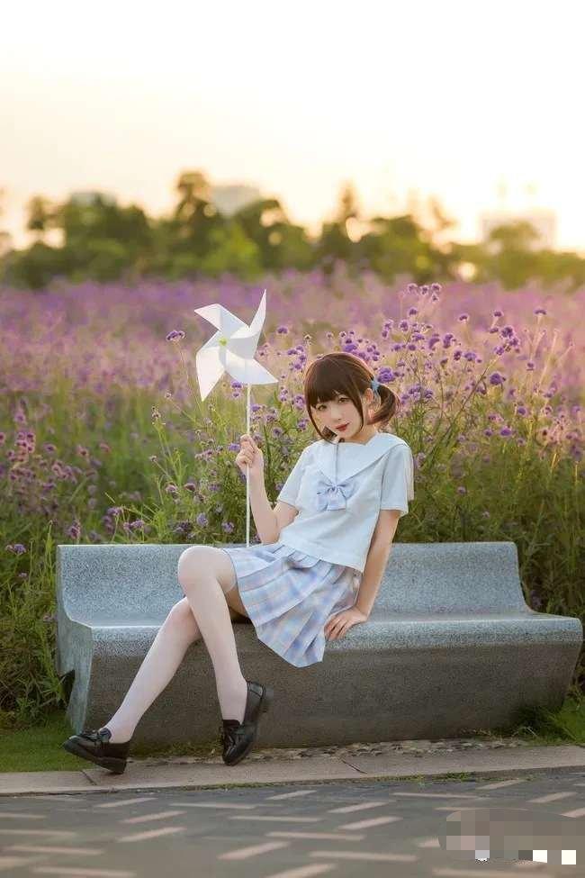 【cos】JK私影~少女和风车车-小柚妹站