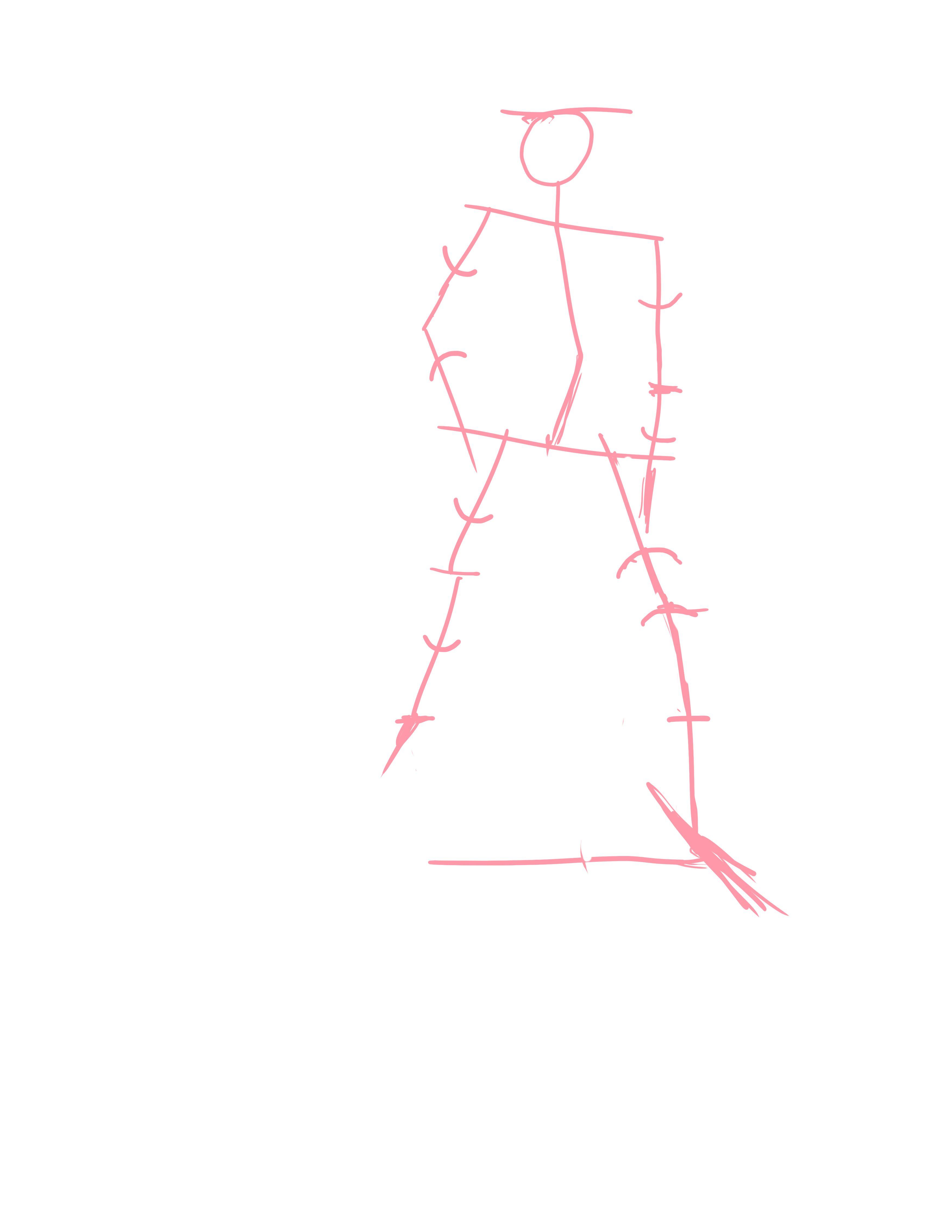 【板绘】自学绘画第五十一天(原创)(直播结束)-小柚妹站