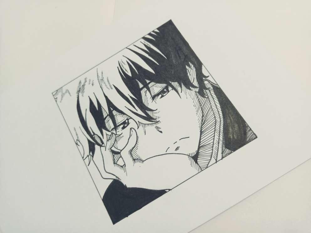 【手绘】黑白漫画风格