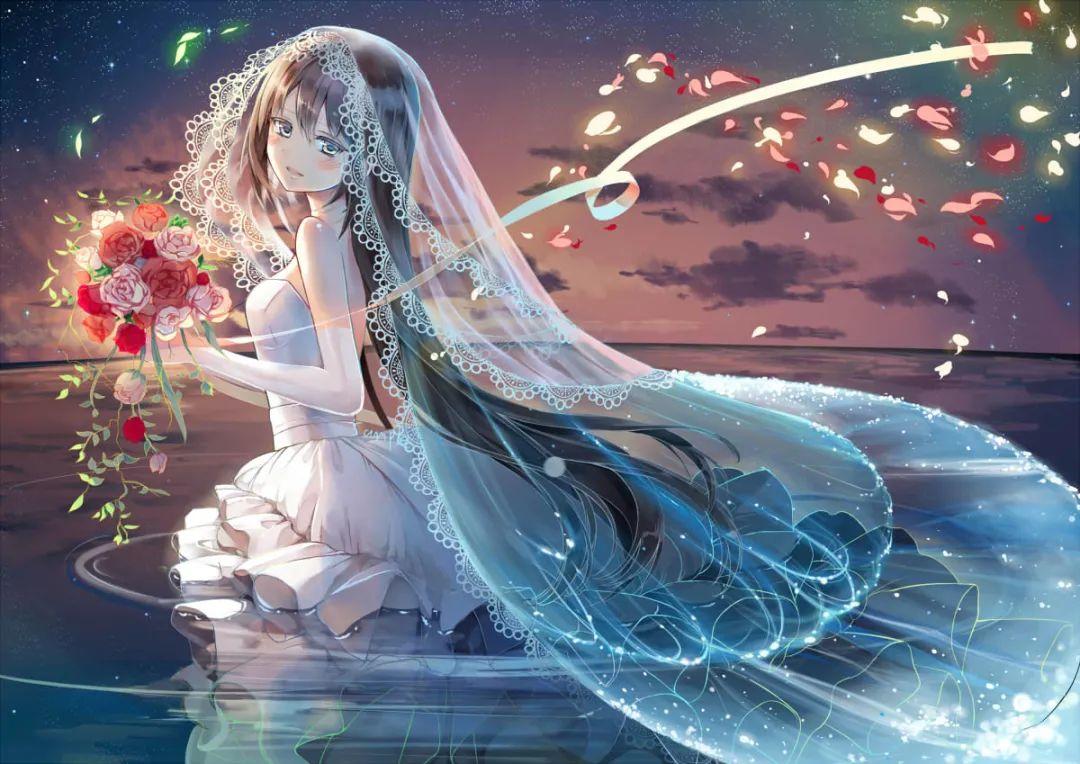 【图片】穿婚纱的女孩-小柚妹站