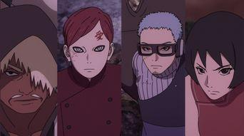 【盘点】火影忍者:几代中战力较弱的五影,砂忍村没有一代强者