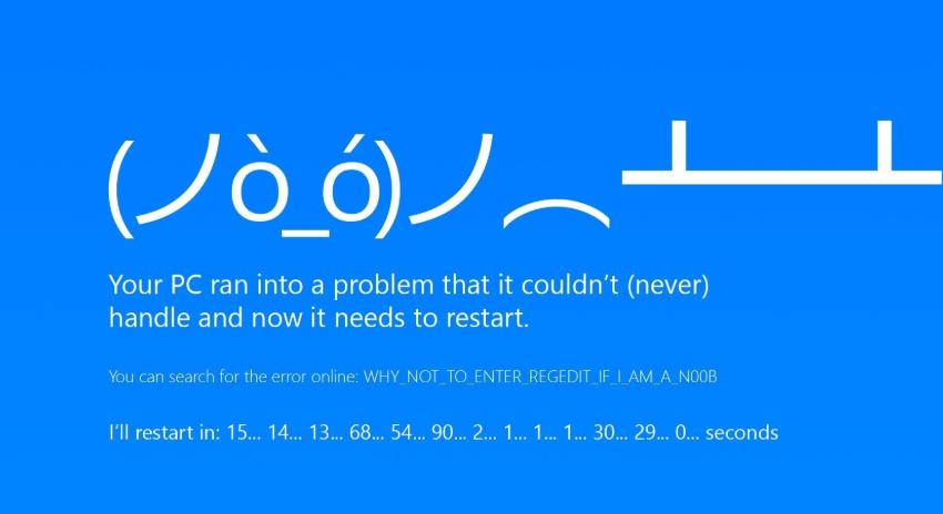 示例电脑蓝屏怎么解决