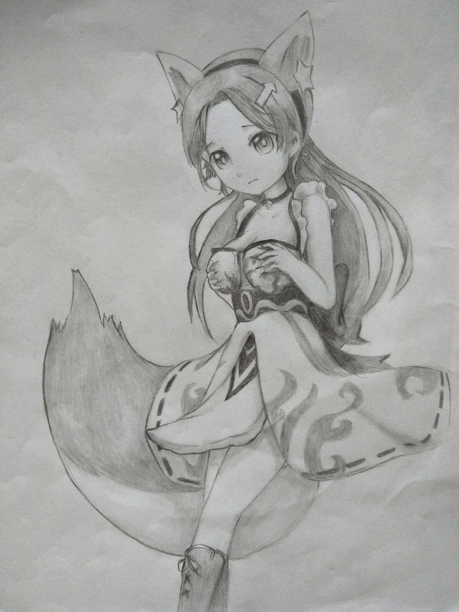 【手绘】一只小狐狸,妖精种植手册云播
