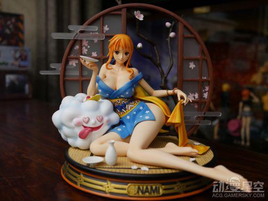 【资讯】《海贼王》醉酒娜美雕像 微醺姿态风情无限好-小柚妹站