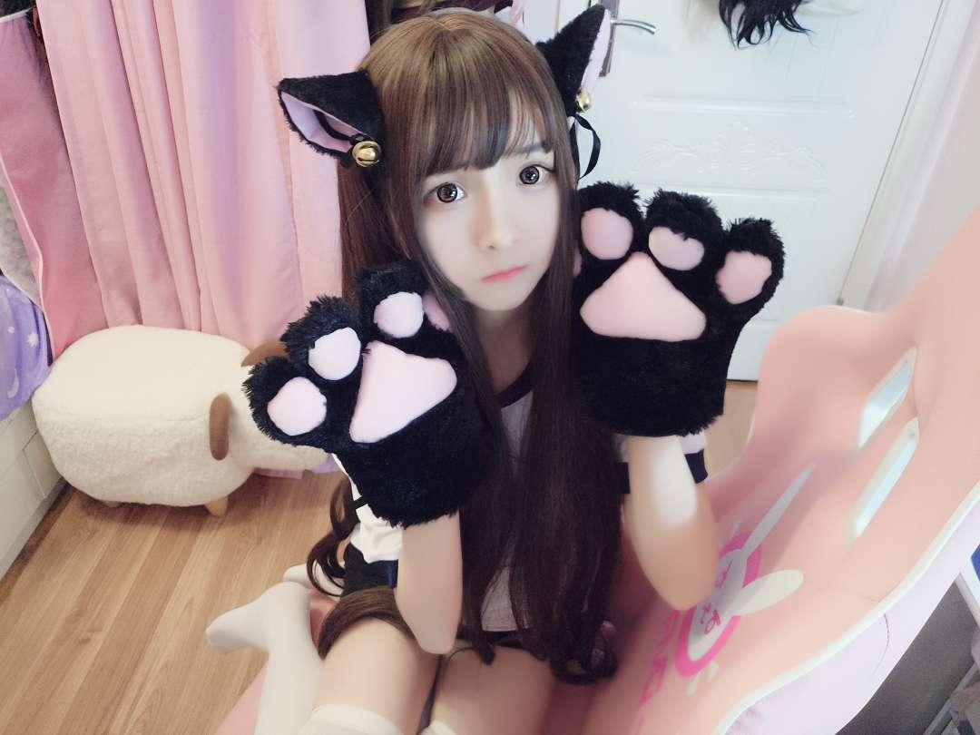 【COS】猫耳+女仆+体操=?!