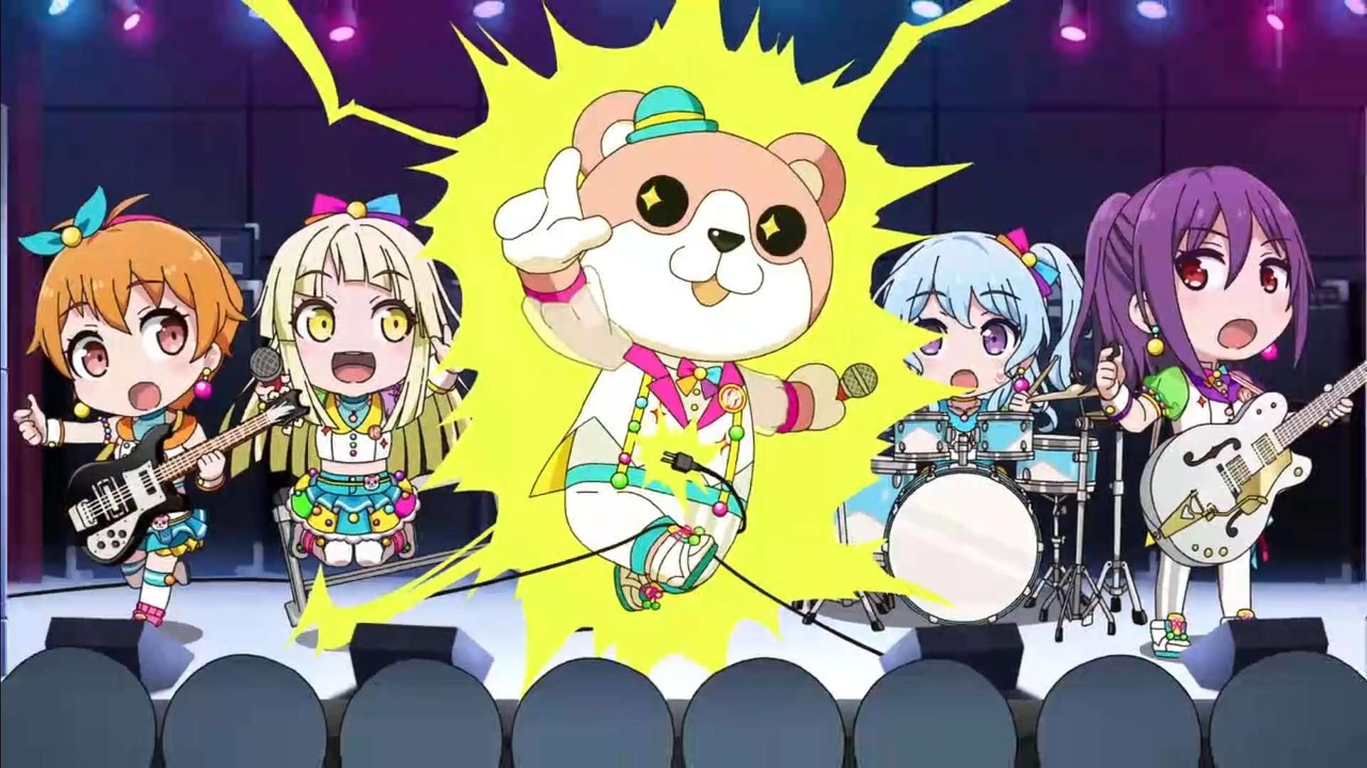 【动漫】《BanG Dream! 少女乐团派对》第6话-小柚妹站