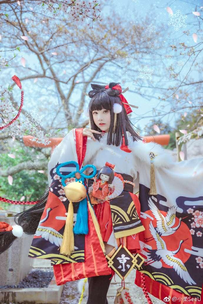 【cosplay】春宵苦短日高起-柚妹网