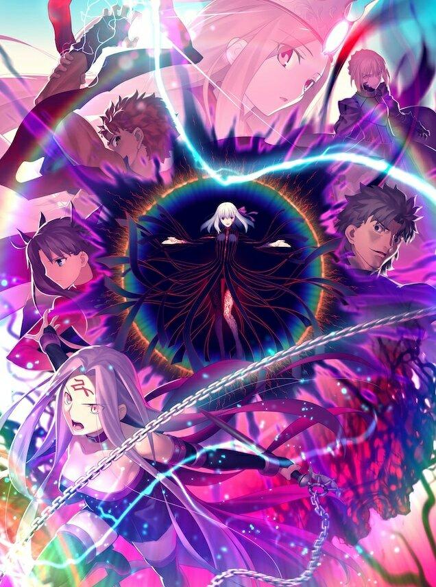【动漫资讯】剧场版动画《Fate[HF]》票房突破4亿日元