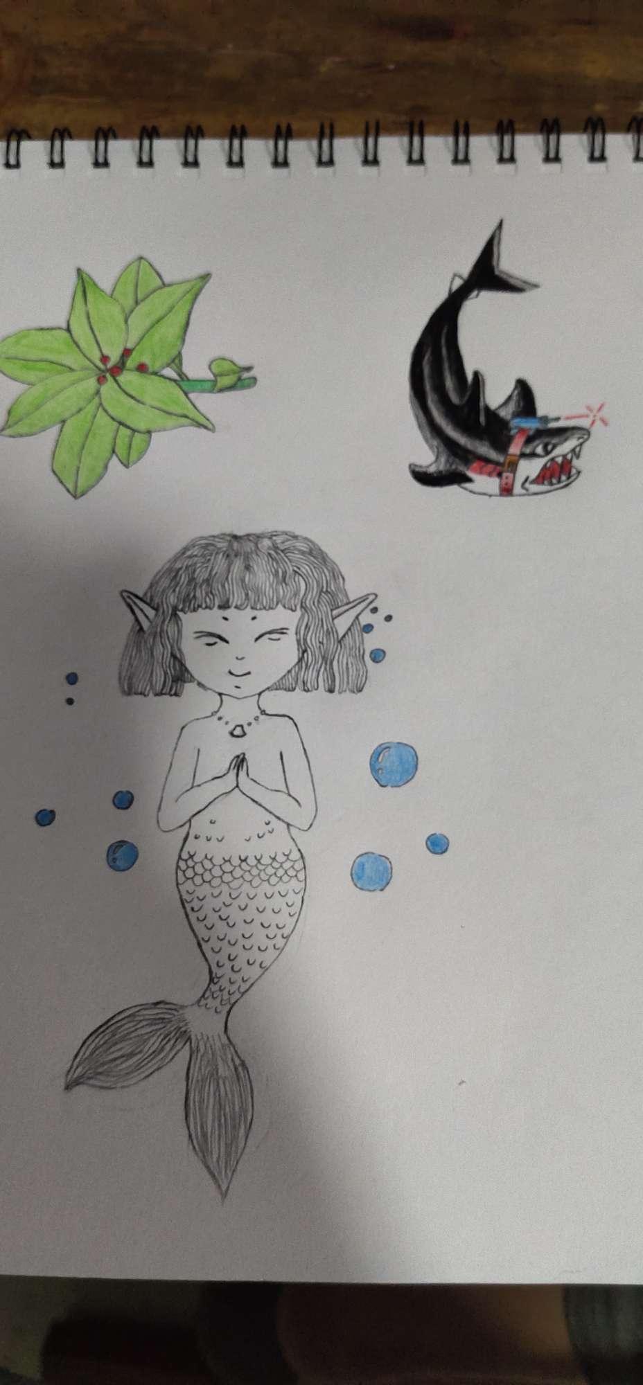 【手绘】我裂开了啊,花 少年动漫图片