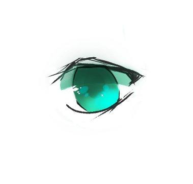【板绘】练习画个眼睛