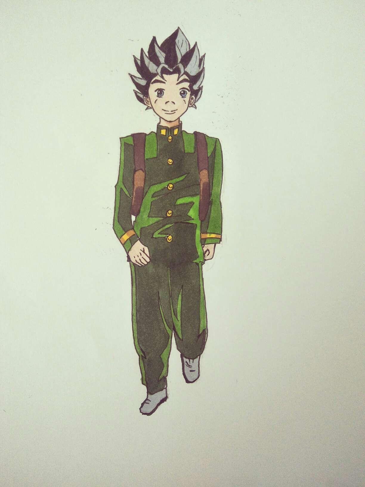 【手绘】超级赛亚人 广濑康一