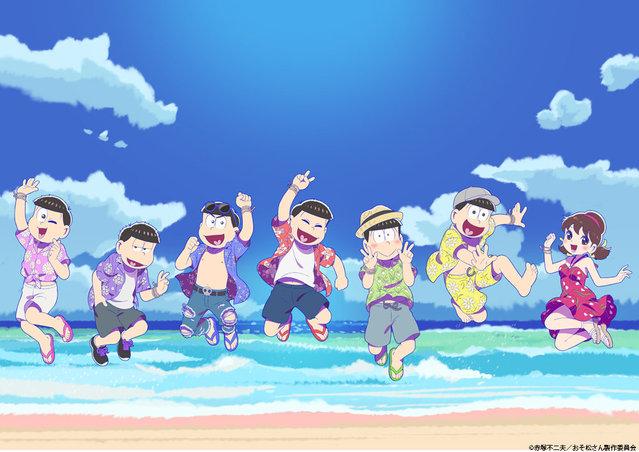 【资讯】TV动画「阿松」第3季放送纪念活动视觉图公开