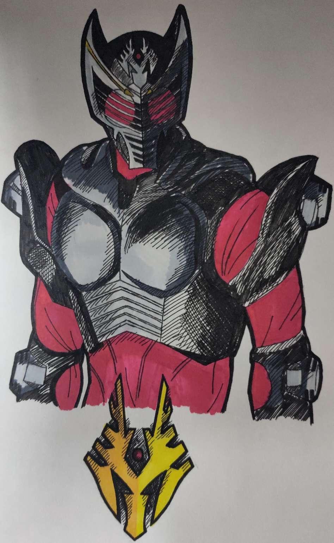 【手绘】[手绘]假面骑士