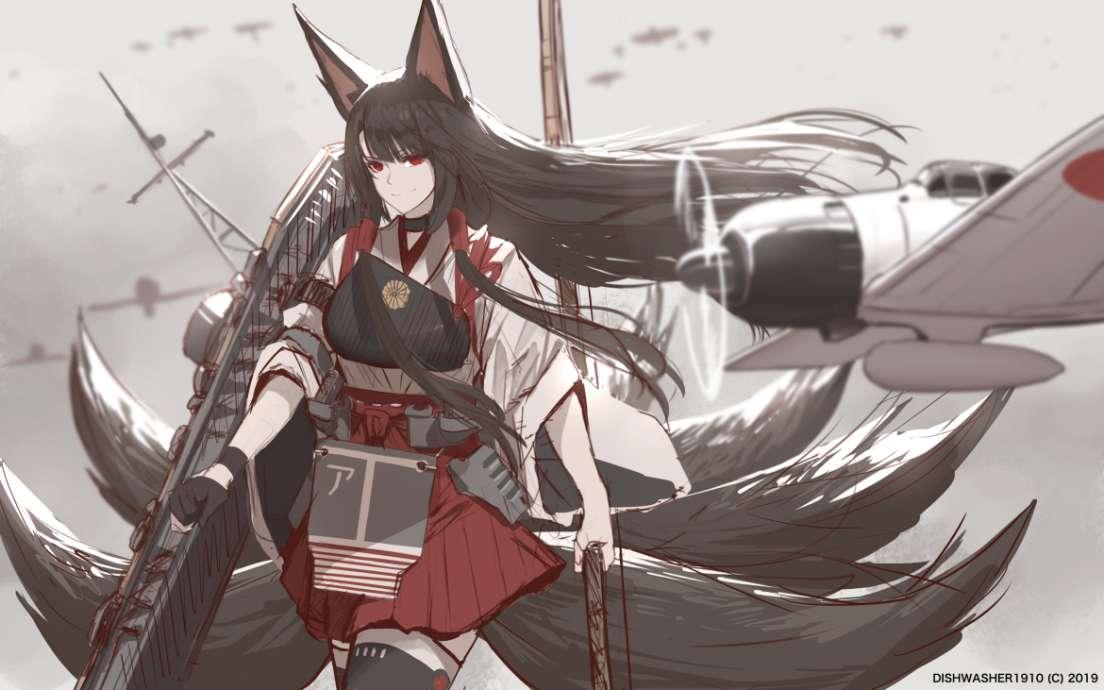 【美图】赤城老婆,claned动漫