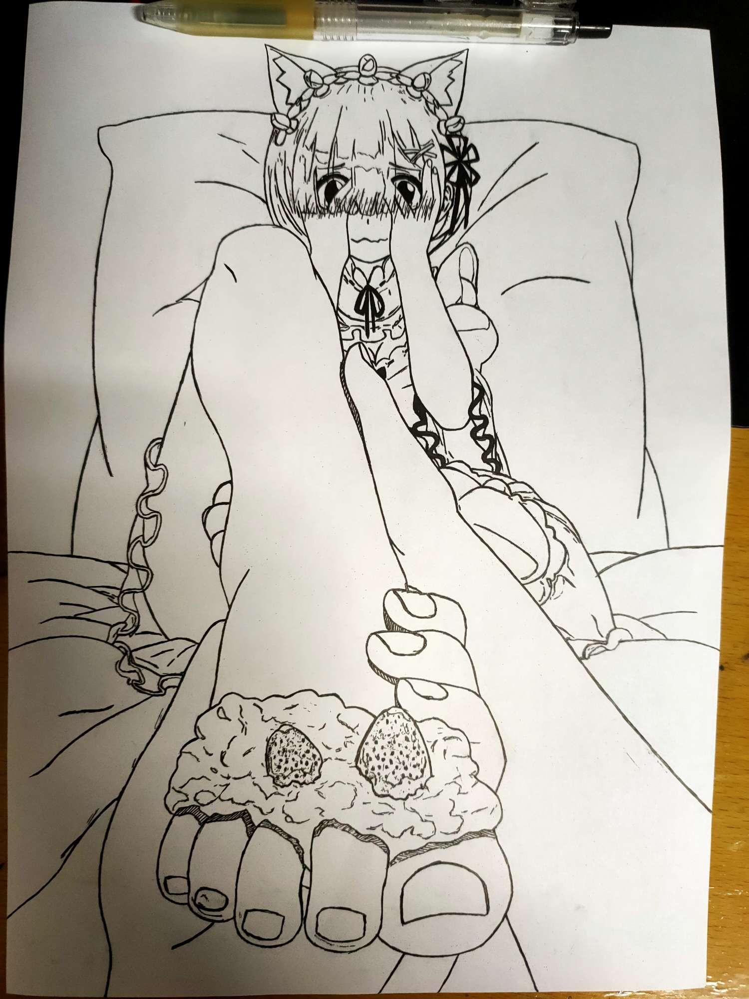 【手绘】失踪老婆回归-小柚妹站