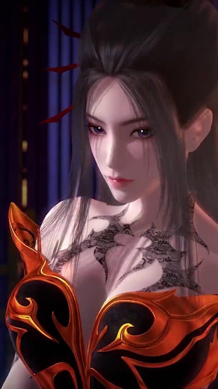 【图片】国漫《天行九歌》最喜欢的女神