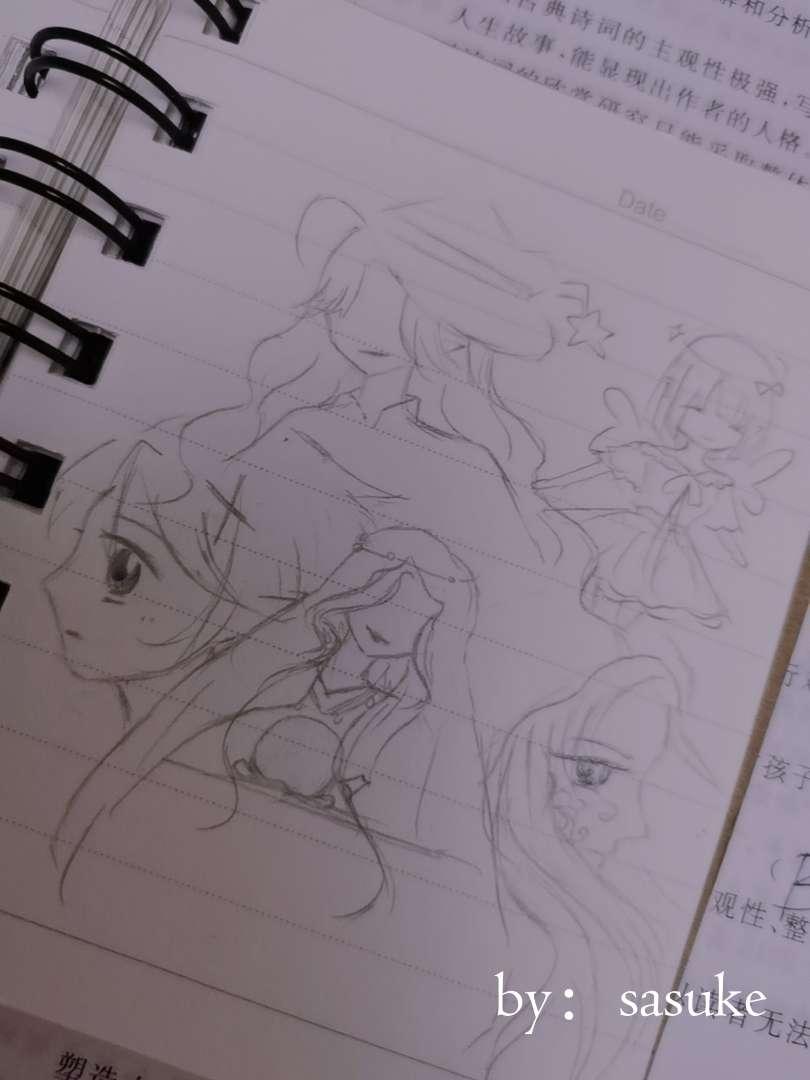 【手绘】【自创】我又双叒叕回来了-小柚妹站