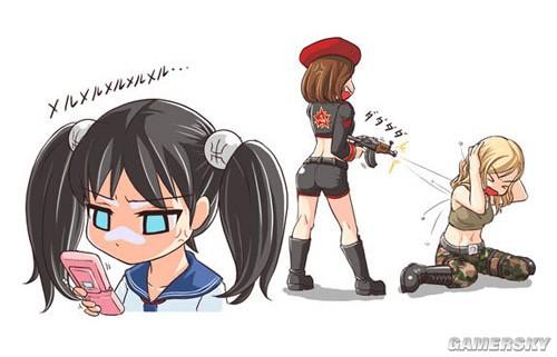 【漫画】红警3【游戏】上篇